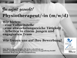 Physiotherapeut/ -in (m/w/d)